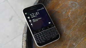 Unlocked BlackBerry Classic for sale