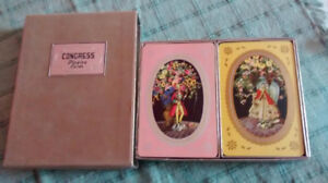 Vintage Congress playing cards.
