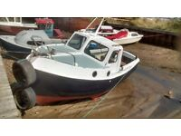 21ft Romany fishing boat