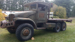 1952 Canadian GMC M135 6X6