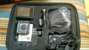 Go Pro 3 with 4 in 1 action mount bundle - Dolly kit