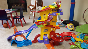 Vtech go go smart wheels play sets.