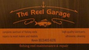 Fishing Reel Maintenance and Repair