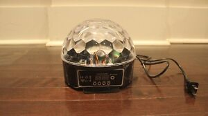 LED Crystal Ball Special Effects Lighting (3 in Stock 1 for $10)