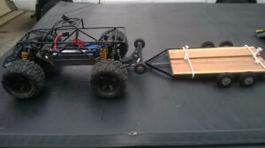 """New Lower  Price$! """"RC Project Homemade Trailer """""""