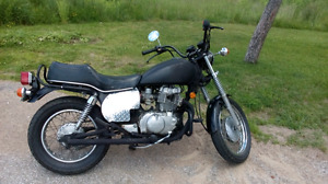 82 honda cm 450e to trade for rv / winabago camper van