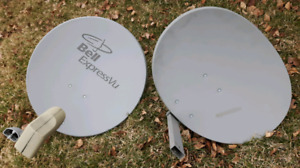 Lightly used bell dish's