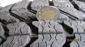 4 pneus d`hiver monré sur mags 225x55x17   97S