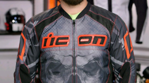 Icon Overlord Reaver Textile Motorcycle Jacket