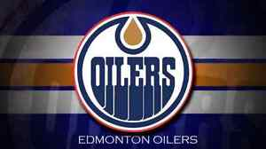 Oilers Single game seats section 110. $200/pair