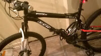 CCM STATIC DUAL SUSPENSION FRONT DISK BRAKES LIKE NEW