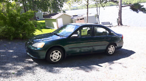 2001 Honda civic (SOLD)