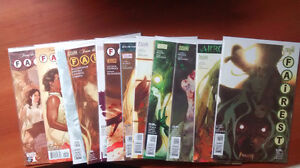 FAIREST #1-13 NM/NM+ FABLES BILL WILLINGHAM ADAM HUGHES COVERS!