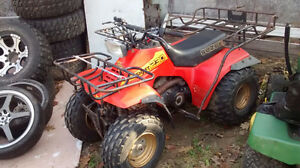 1985 suzuki quad runner 230cc with reverse