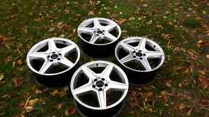 "18""  Mercedes Benz wheels"