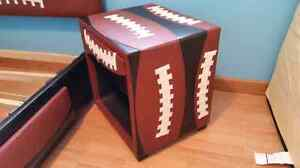 Football captains bed
