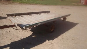 Small Flatbed Trailer Kitchener / Waterloo Kitchener Area image 3