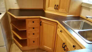 Complete Kitchen Cabinets for Small Area