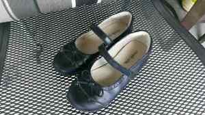 Striderite black leather size 9.5