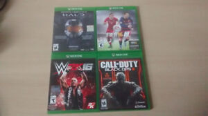Xbox One Games CIB great condition