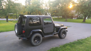 Jeep TJ Hard Top and/or Soft Doors