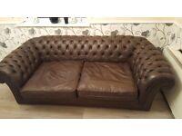 Chesterfield sofas 3x2x1