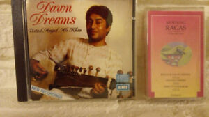INDIAN Classical Music Cassettes and Cds