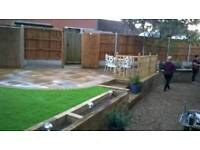 Landscaping, patios, drive's, fencing, artificial lawn's ect
