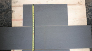 224 square ft of 12 inch by 24 inch porcelain tiles
