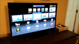 "40""Samsung smart LED tv in mint condition"