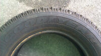 205-60-15 GOODYEAR NORDIC WINTER TIRE 1 ONLY!!!
