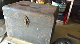 Vintage Vibrotest box,