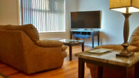 Fully furnished, everything you need to feel at home!