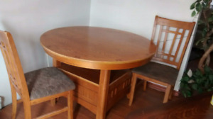 Table set,,with 4 chairs