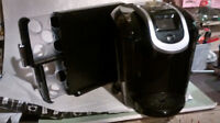 ALMOST NEW / HARDLY USED KEURIG SYSTEM & CART. HOLDER