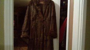 Muskrat coat
