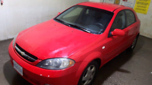 NICE 2007 CHEVROLET OPTRA 4 CYL AUTOMATIC HATCHBACK WITH LOW KMS