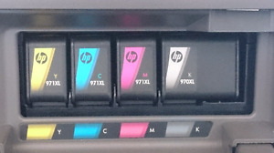 HP  original ink 971xl 970xl