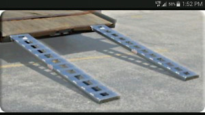 LF automotive loading ramps