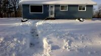 3 + 1 bdrm & 5 acres for sale or Rent-to-Own