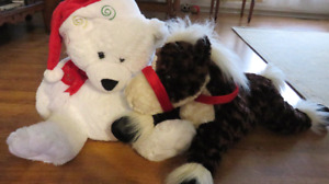 2 Big Stuffed Animals