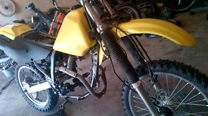 Drz250 parts,missing engine,bars ect