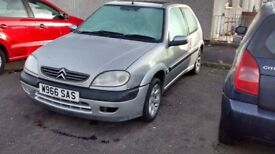 Saxo vtr 1.6 for sale or swap