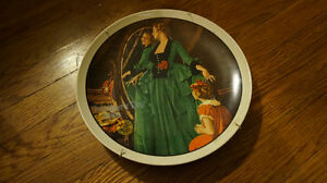 Knowles Norman Rockwell 1984 Mother's Day Plate