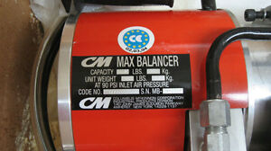 CM MAX 0950 AIR BALANCER CHAIN HOIST West Island Greater Montréal image 1
