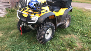 2006 Honda foreman 500cc! FOOT SHIFT!LOW KM