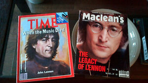 John Lennon's Death - Time and Maclean's Kitchener / Waterloo Kitchener Area image 1