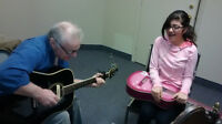 Guitar Lessons $15 at the Meetinghouse!