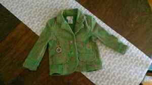 Toddler girls jacket from boutique in Montreal