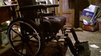 Wheelchair Invacare 9000 XT with Invacare Stabilite Cushion